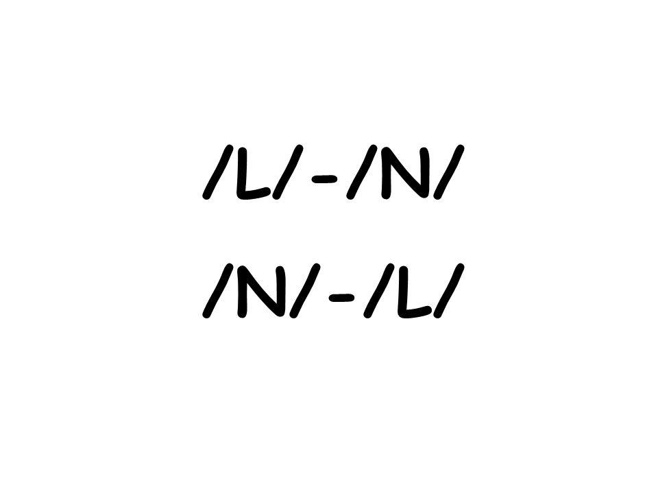 /L/-/N/ /N/-/L/