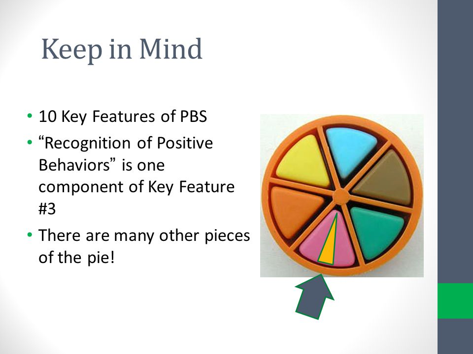 Keep in Mind 10 Key Features of PBS