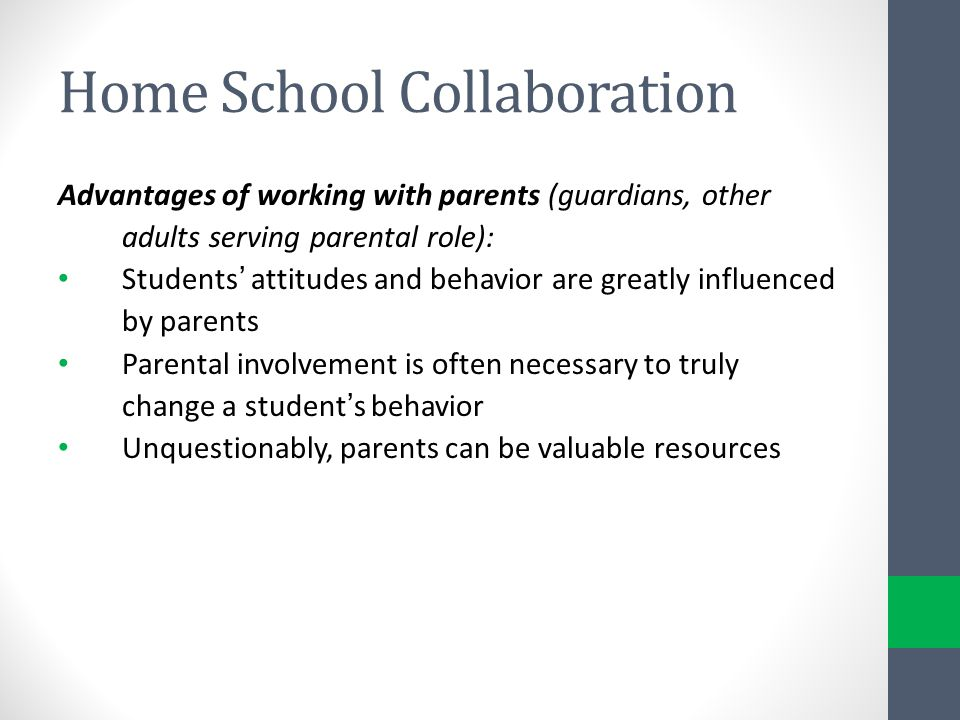 Home School Collaboration