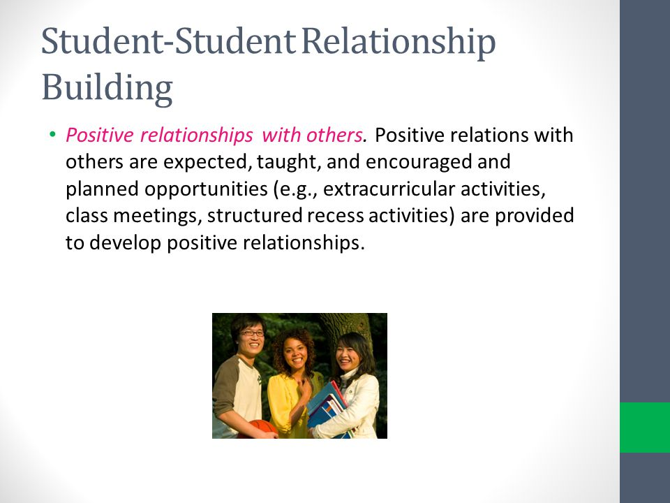 Student-Student Relationship Building