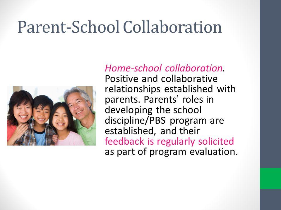 Parent-School Collaboration