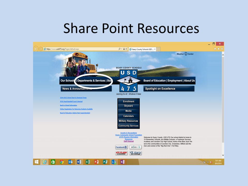 Share Point Resources