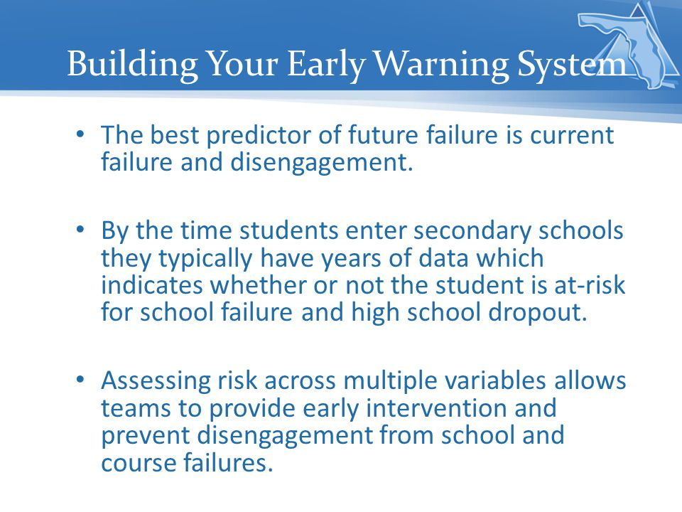 Building Your Early Warning System
