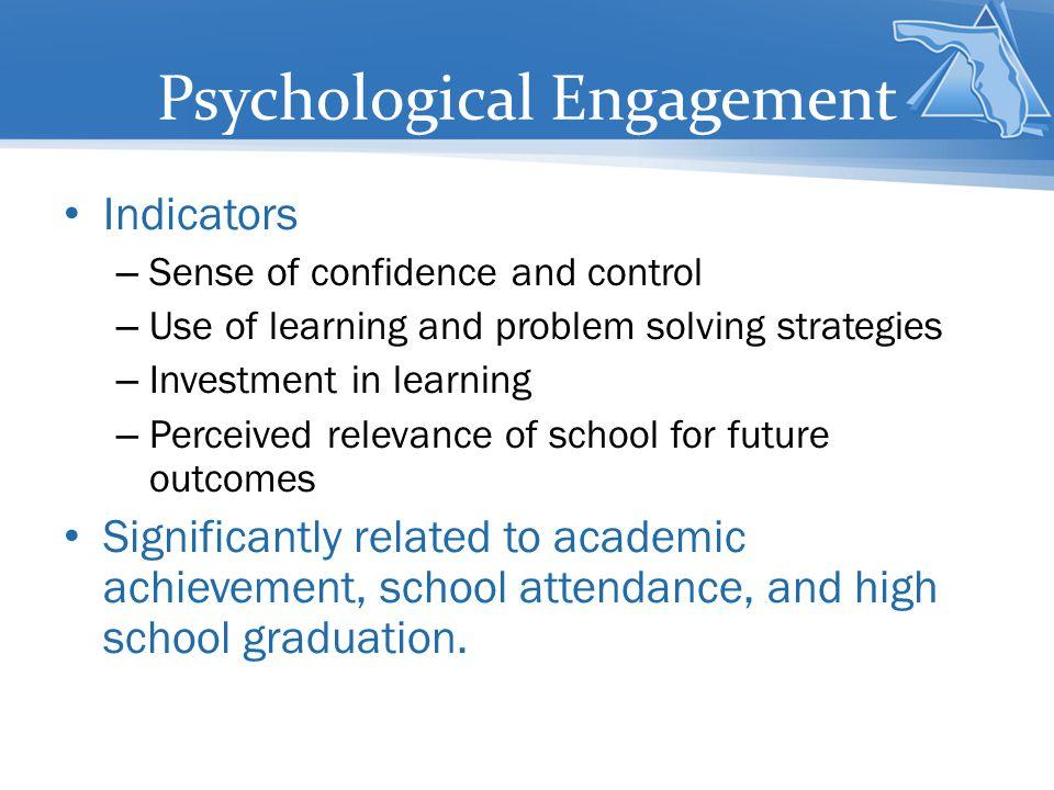 Psychological Engagement