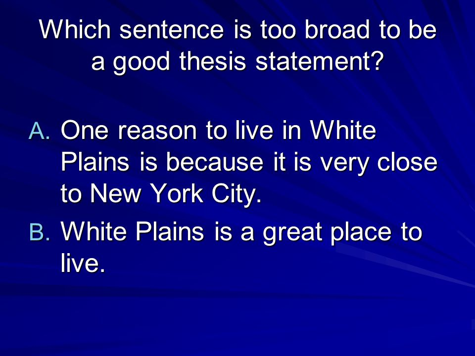 thesis sentence for great expectations