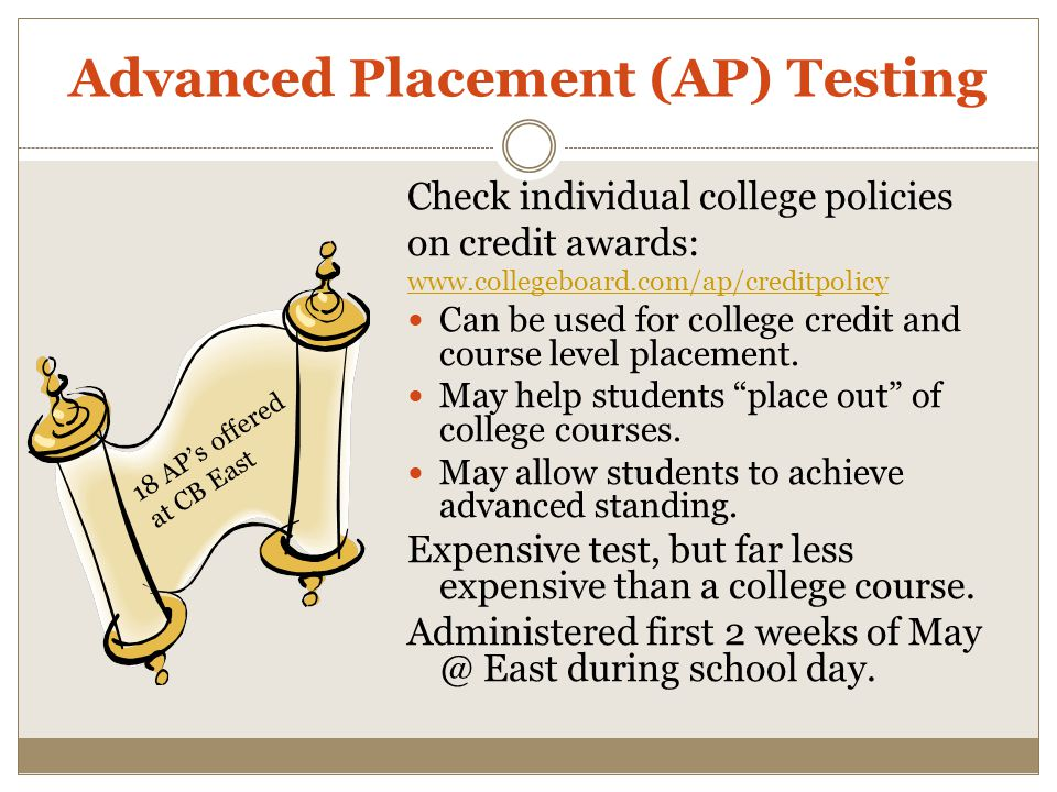 Advanced Placement (AP) Testing