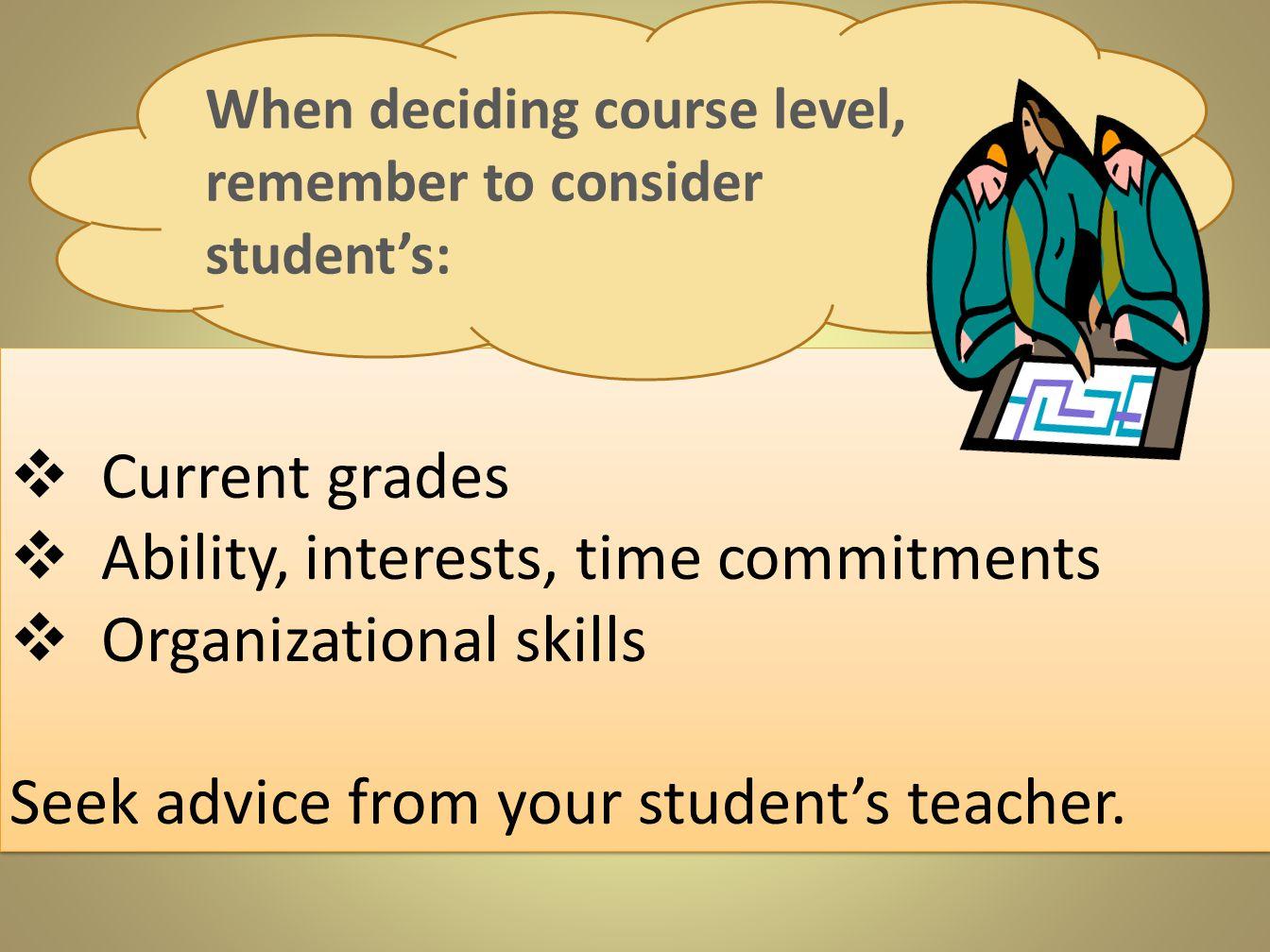 organizational skills essay