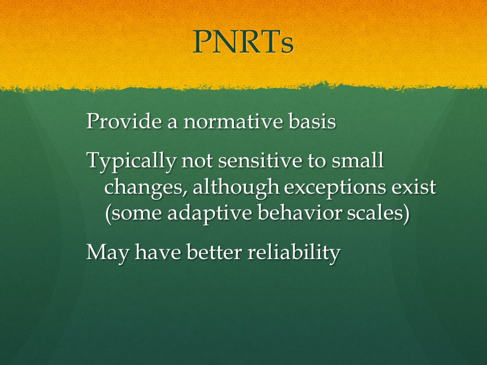 PNRTs