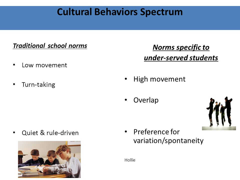 Cultural Behaviors Spectrum