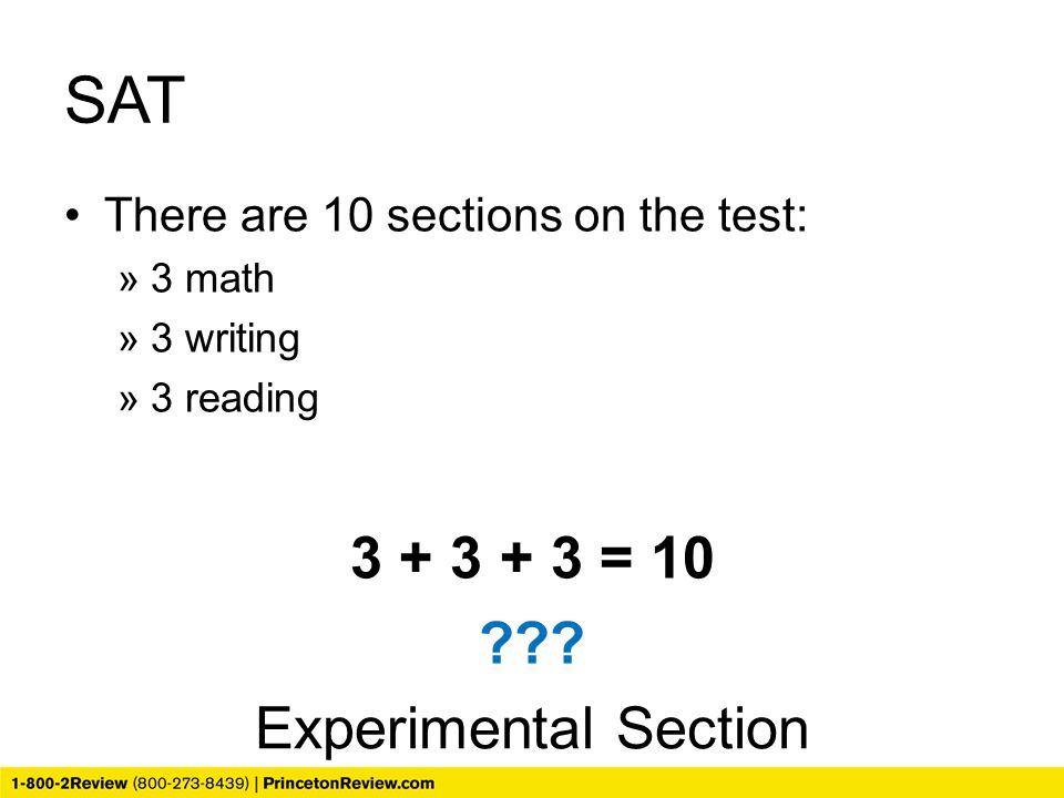SAT 3 + 3 + 3 = 10 Experimental Section