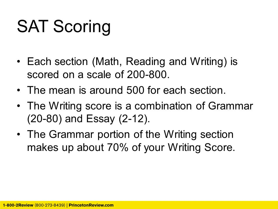 new sat essay grading scale Scoring on the sat (the old sat was out of 2400), and there are new subscores and cross-section be factored into your.