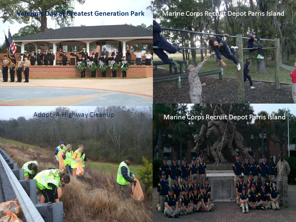 Veterans Day at Greatest Generation Park