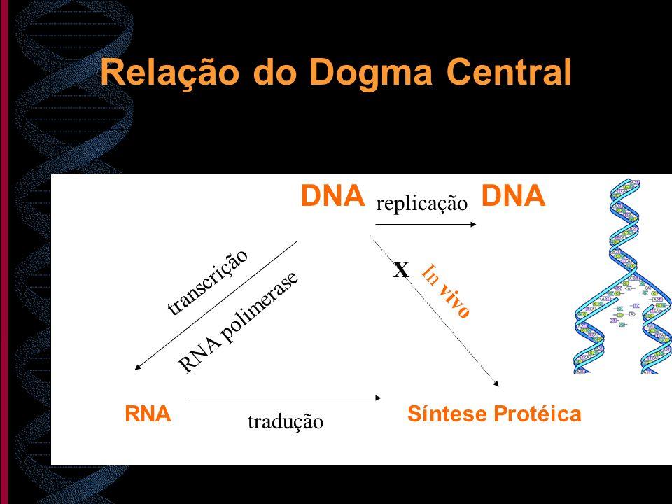 Relação do Dogma Central