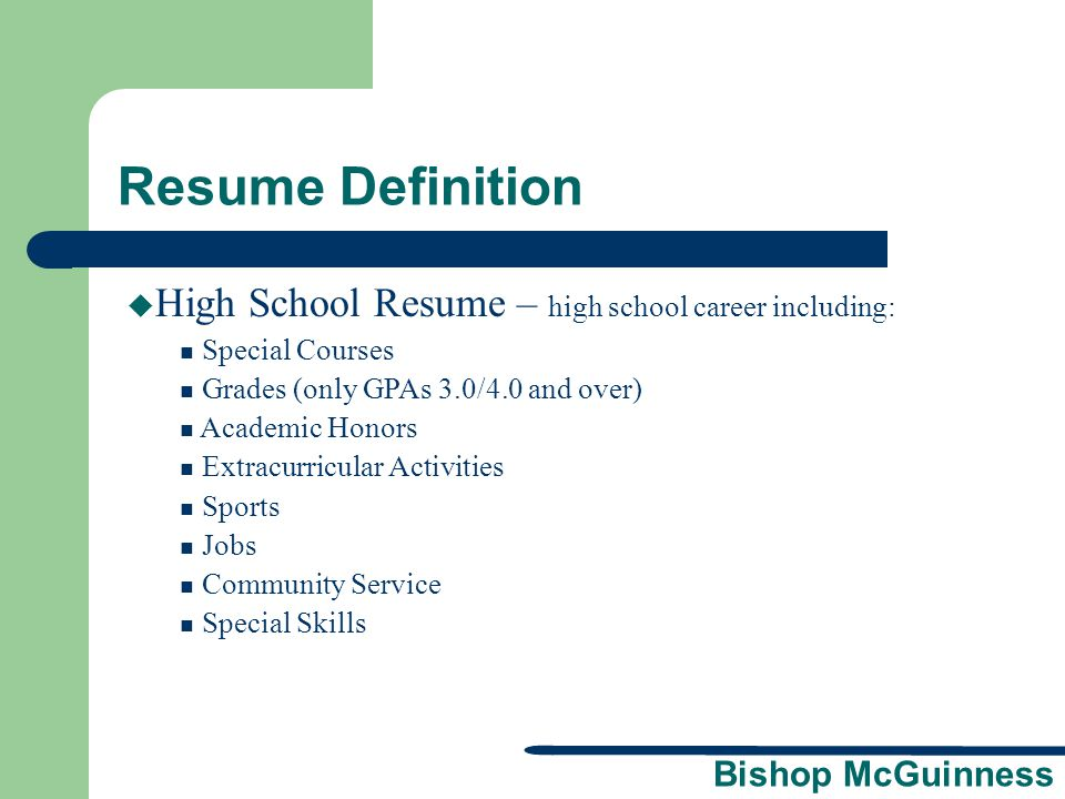 100 Gpa In Resume Means How To Put Your Education On A