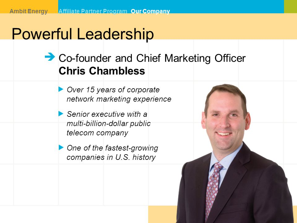 Powerful Leadership Co-founder and Chief Marketing Officer