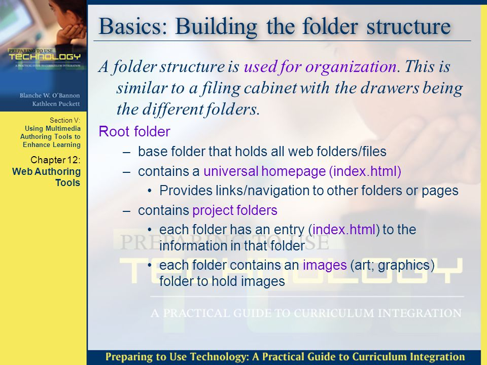 Basics: Building the folder structure