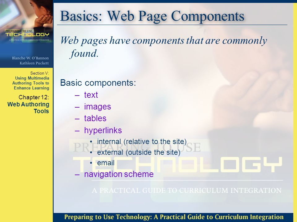 Basics: Web Page Components