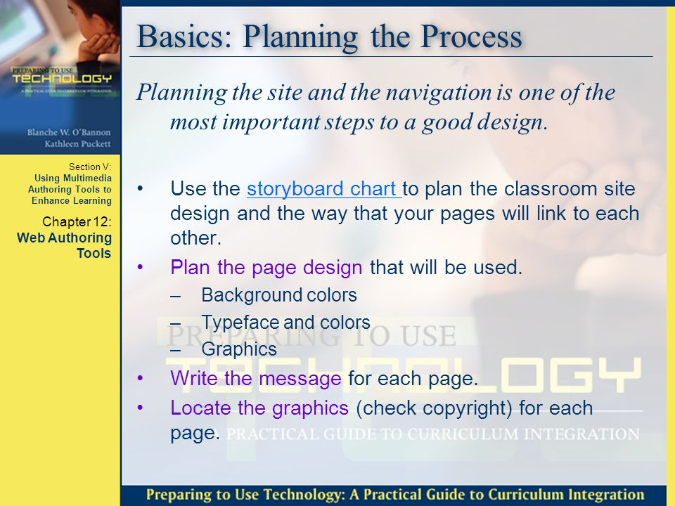 Basics: Planning the Process