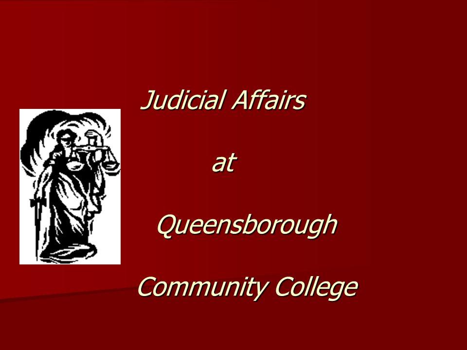Judicial Affairs at Queensborough Community College