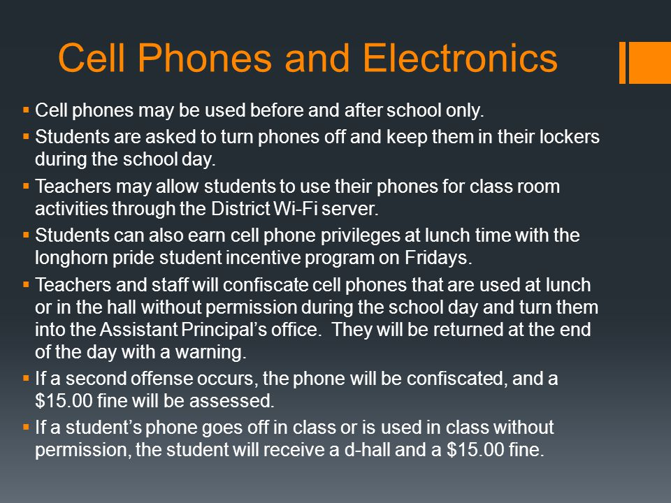 Cell Phones and Electronics