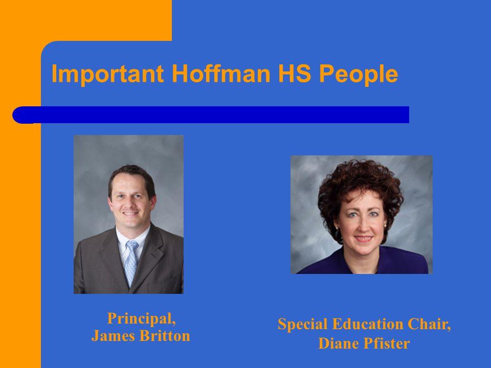 Important Hoffman HS People