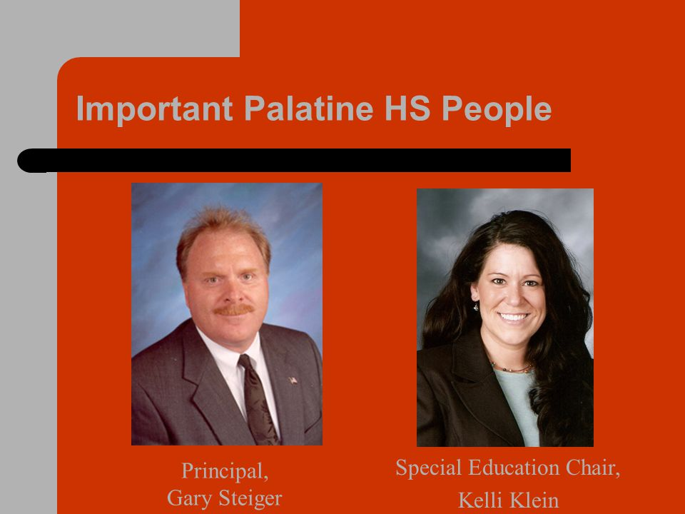 Important Palatine HS People