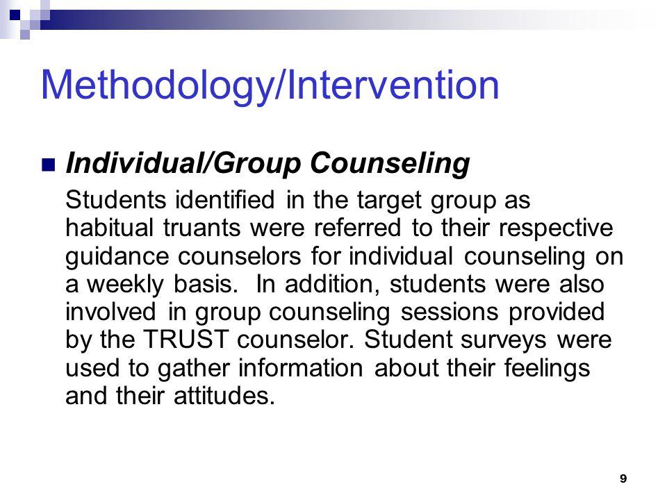 Methodology/Intervention