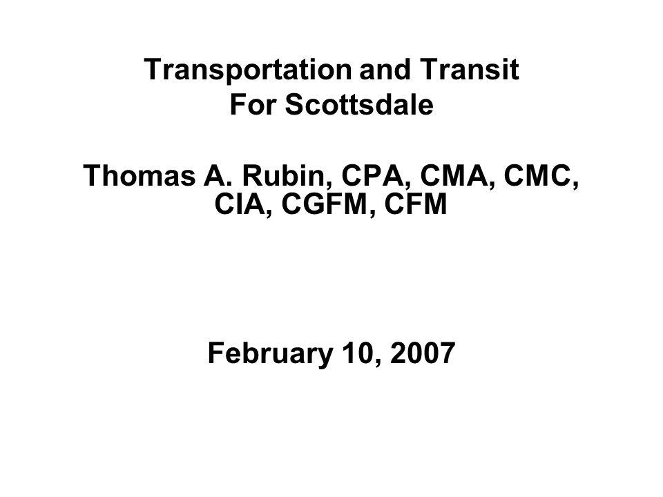 Transportation and Transit For Scottsdale