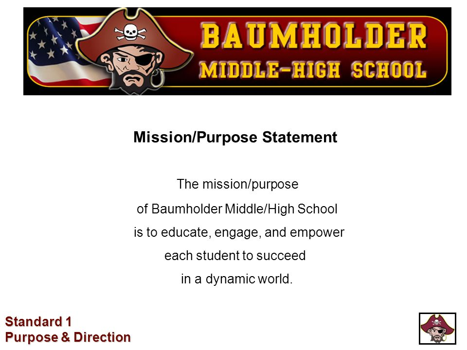 Mission/Purpose Statement