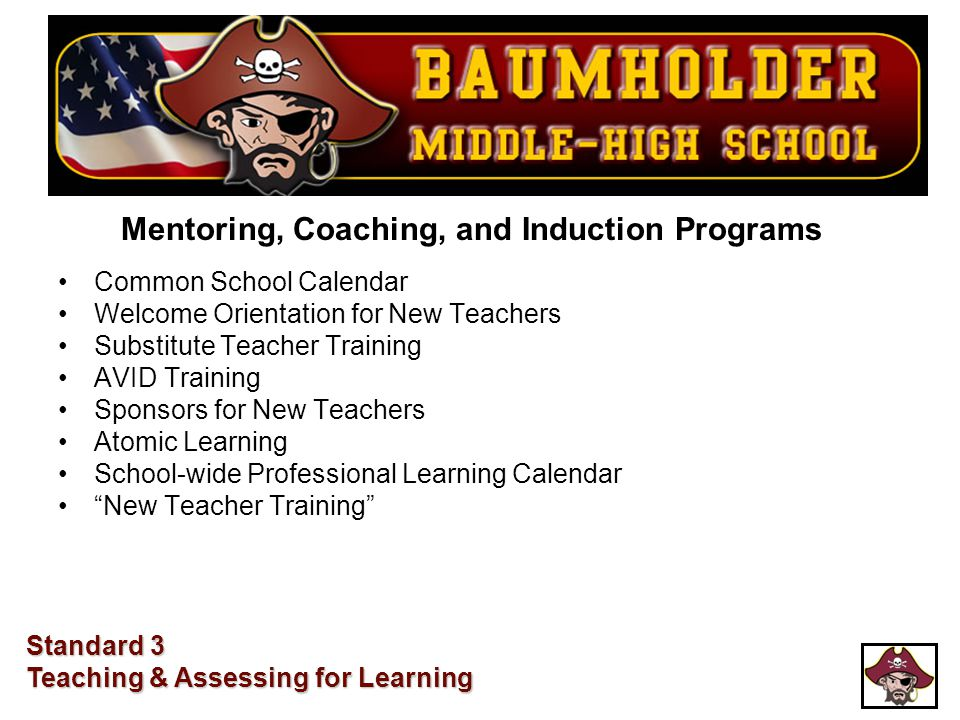 Mentoring, Coaching, and Induction Programs