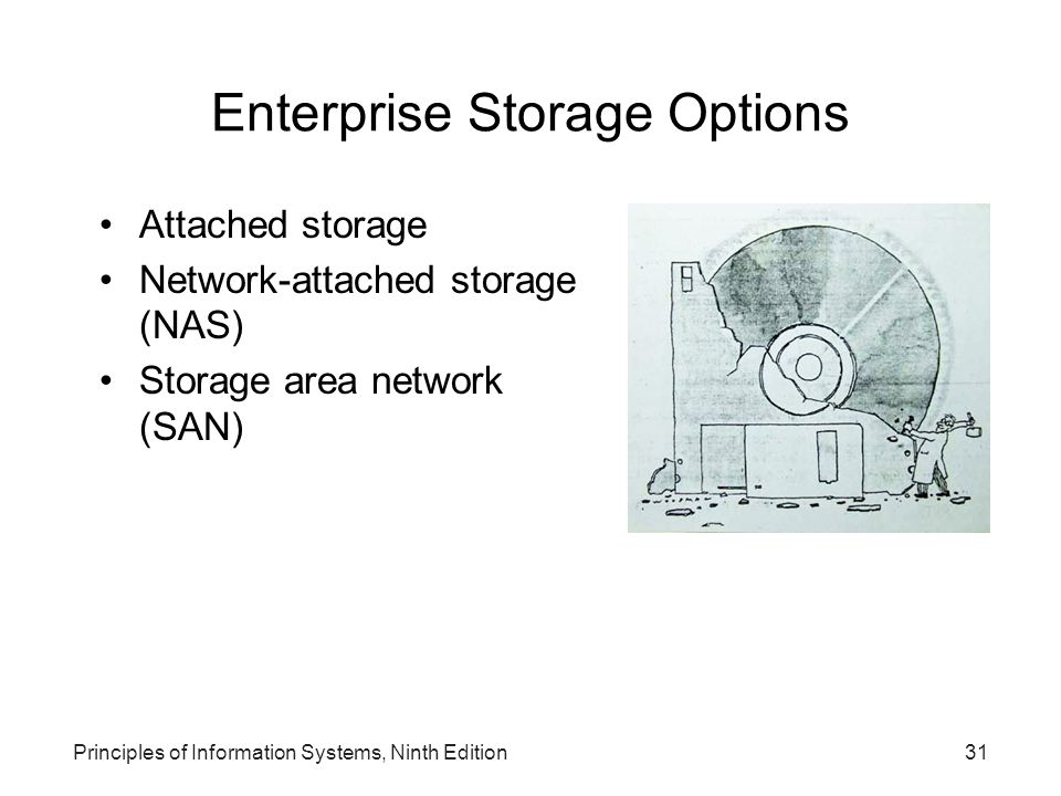 Enterprise Storage Options
