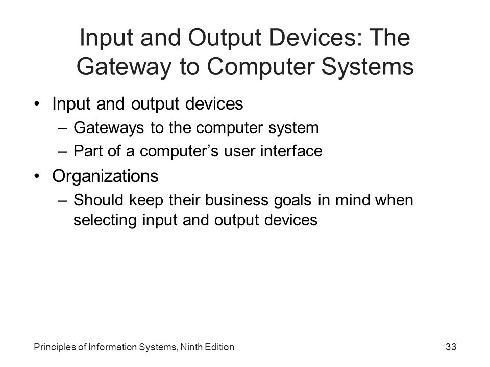 Input and Output Devices: The Gateway to Computer Systems