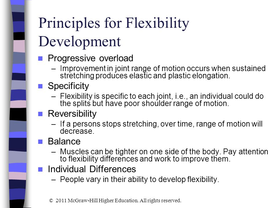 Principles for Flexibility Development