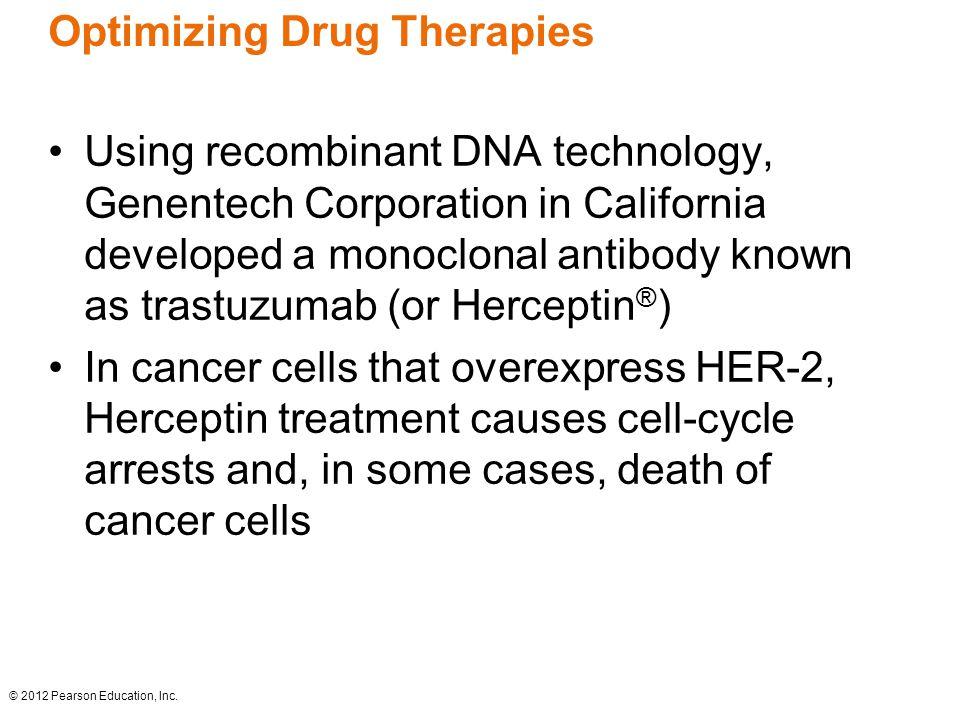 Optimizing Drug Therapies