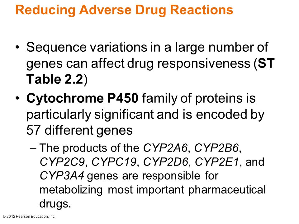 Reducing Adverse Drug Reactions