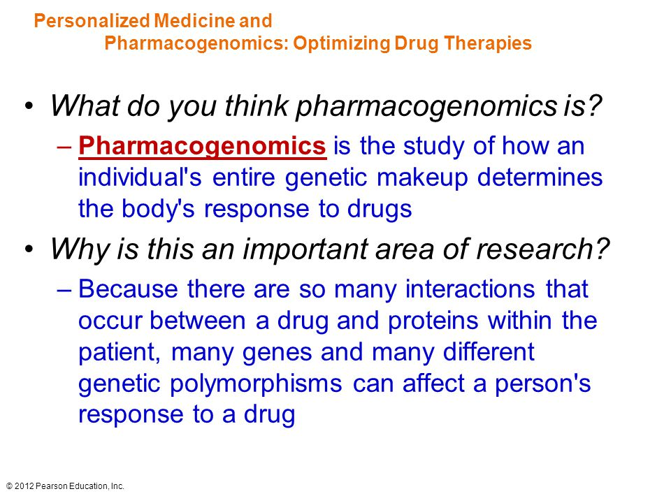 Personalized Medicine and Pharmacogenomics: Optimizing Drug Therapies