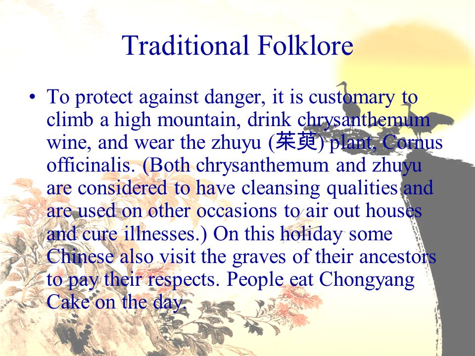 Traditional Folklore