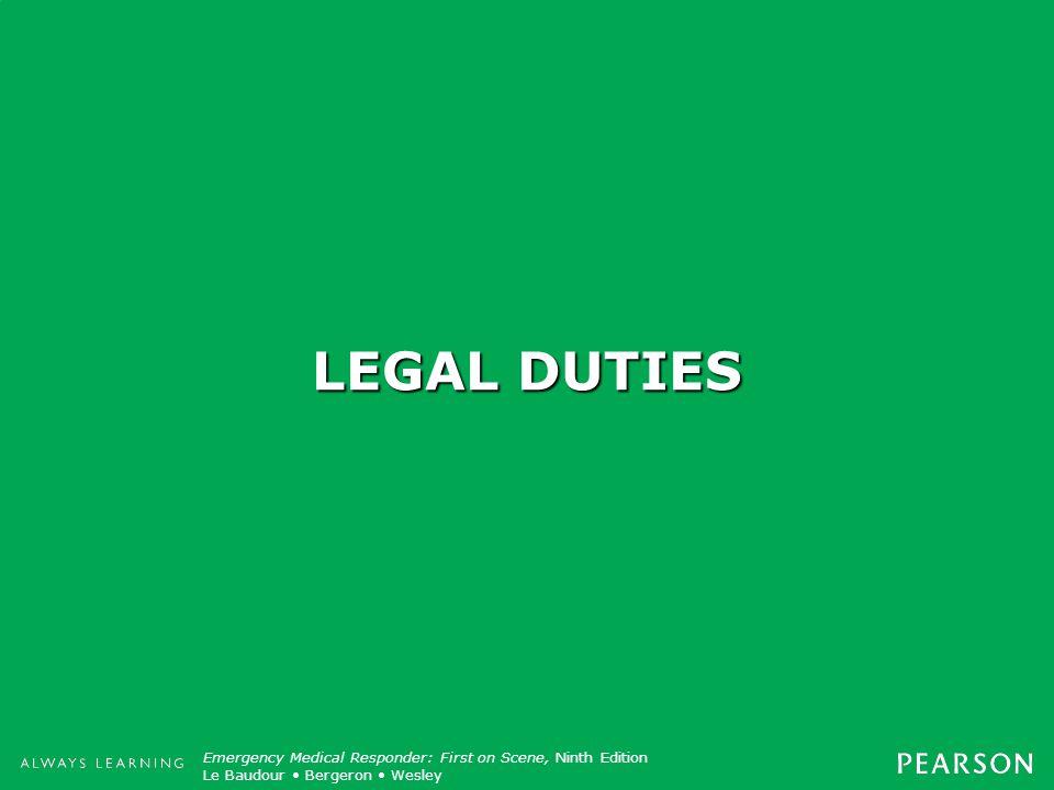 LEGAL DUTIES