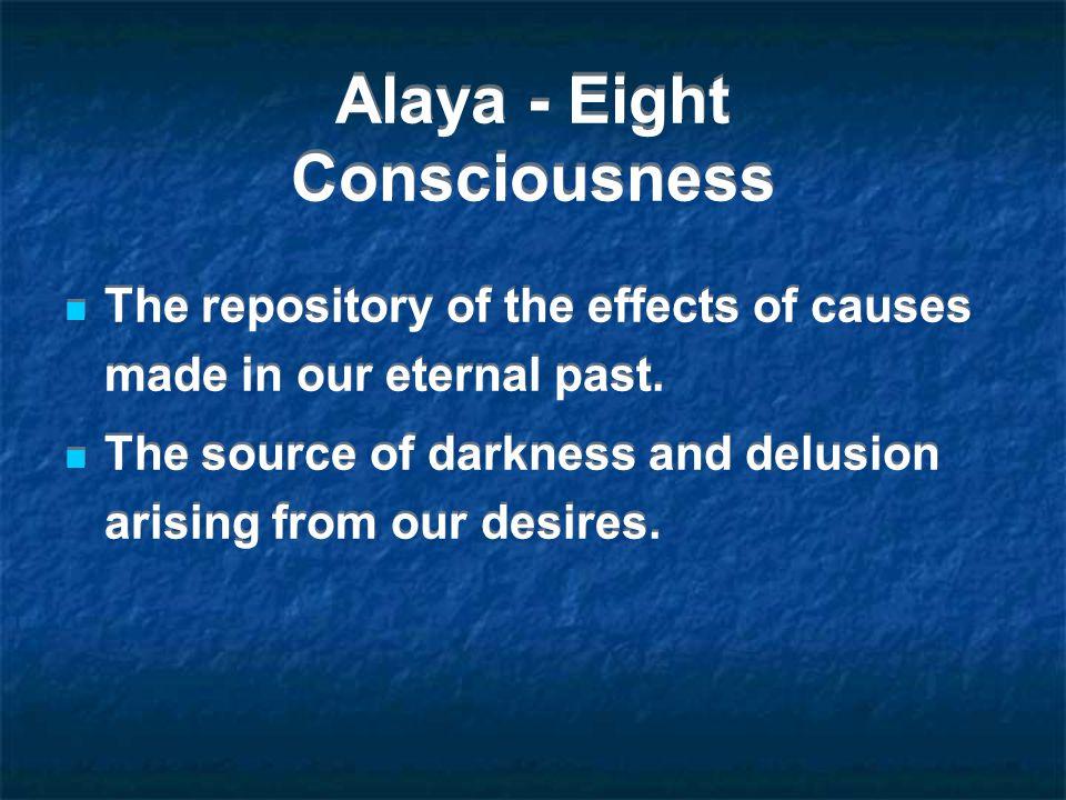 Alaya - Eight Consciousness