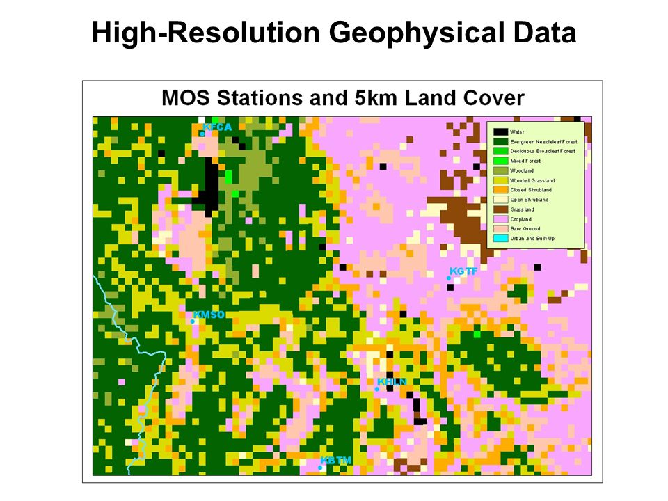 High-Resolution Geophysical Data