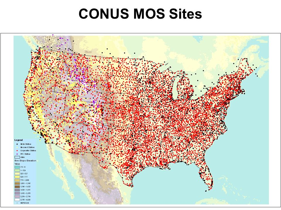 CONUS MOS Sites