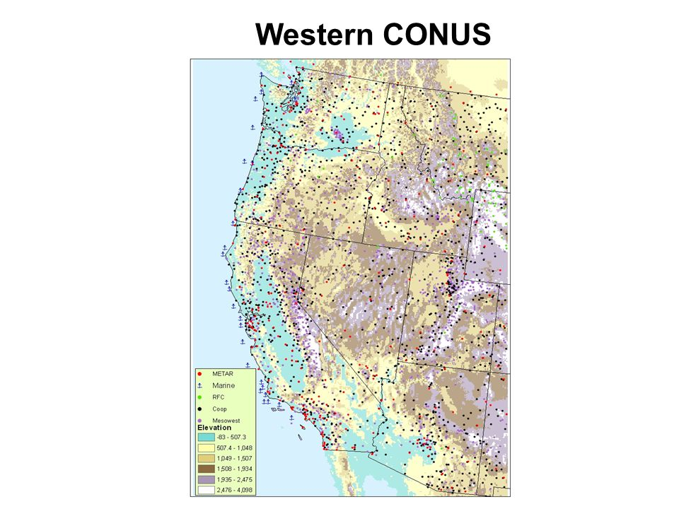Western CONUS