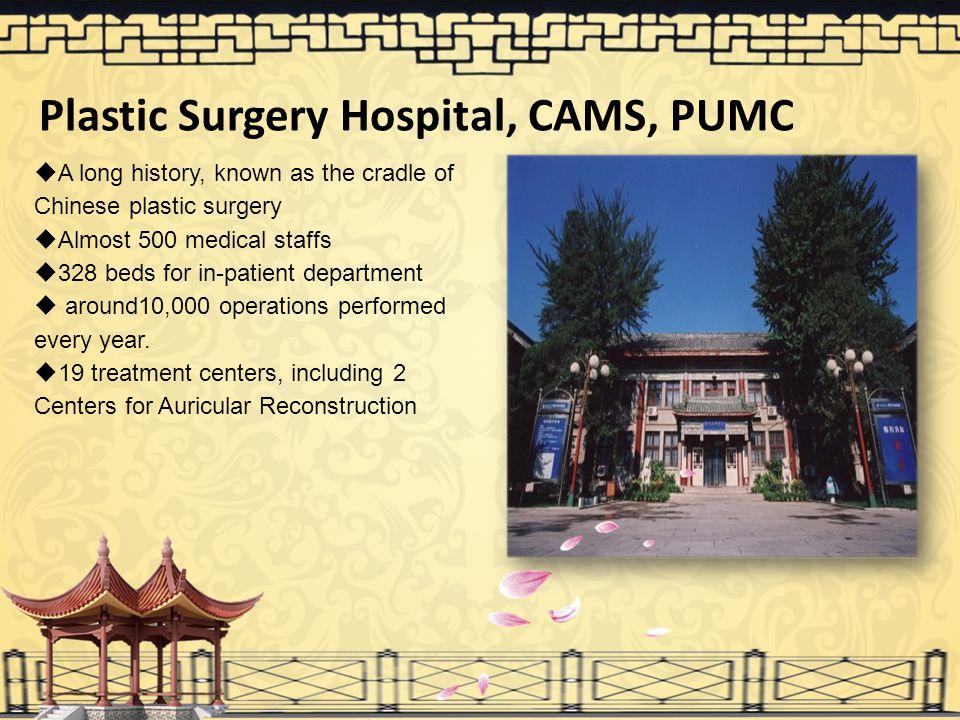 Plastic Surgery Hospital, CAMS, PUMC
