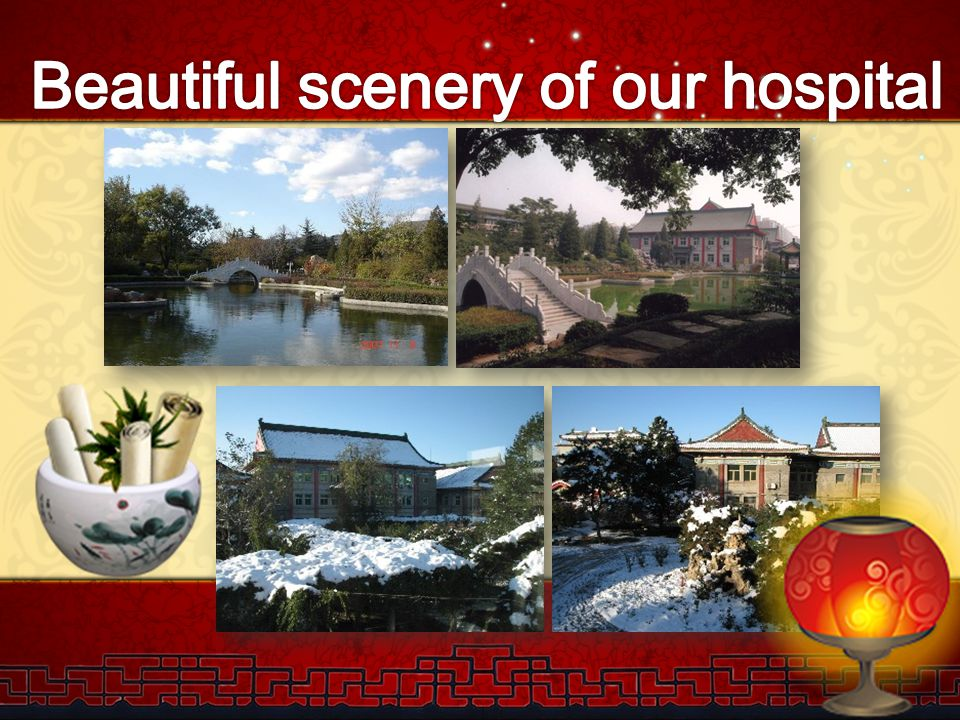 Beautiful scenery of our hospital