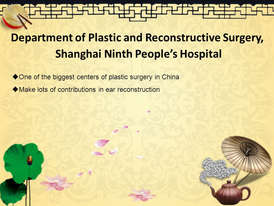 Department of Plastic and Reconstructive Surgery,