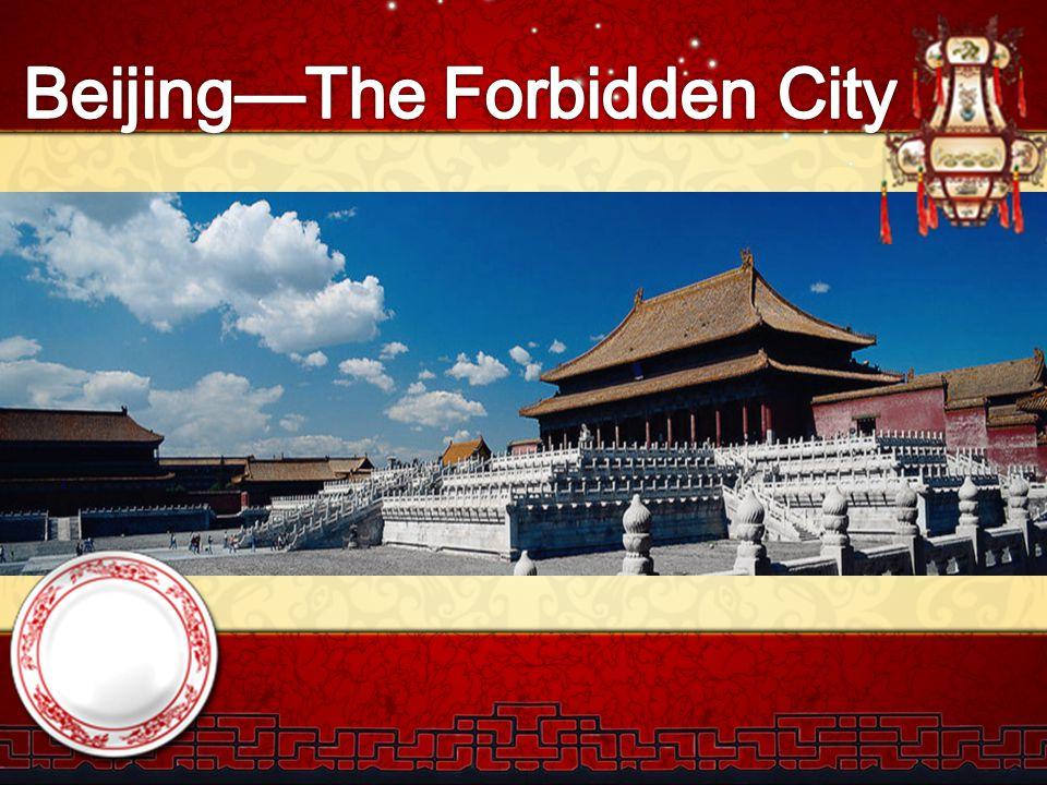 Beijing—The Forbidden City