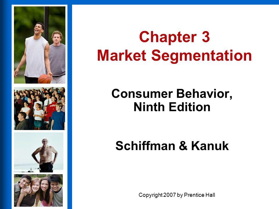 Chapter 3 Market Segmentation