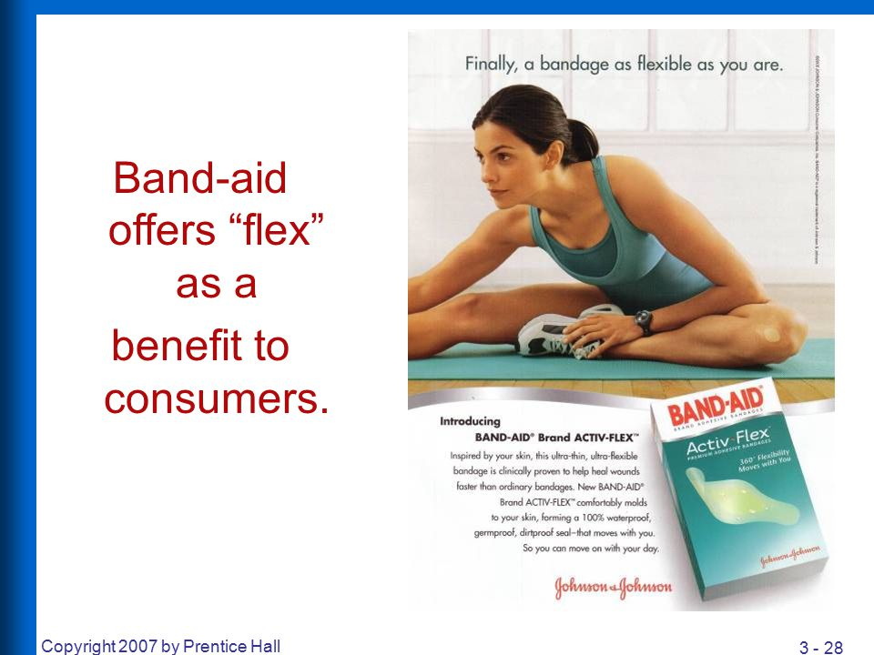 Band-aid offers flex as a
