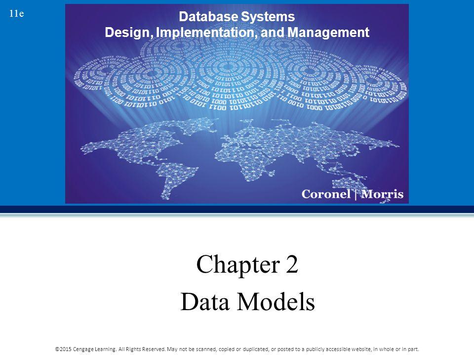 Chapter 2 Data Models