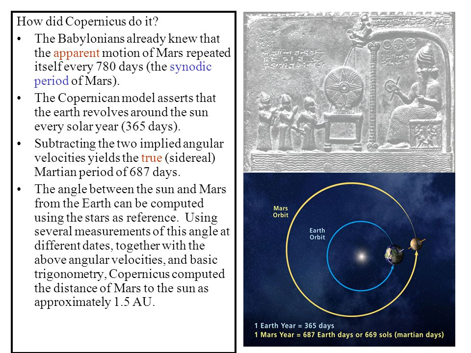 How did Copernicus do it